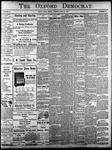 Oxford Democrat - Vol. 83, No.25 - June 20,1916