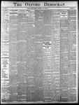Oxford Democrat - Vol. 83, No.29 - July 18,1916