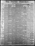 The Oxford Democrat - Vol. 83, No.30 - July 25,1916
