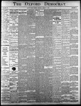 Oxford Democrat - Vol. 83, No.31 - August 01,1916