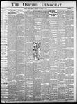 The Oxford Democrat - Vol. 83, No.41 - October 10,1916