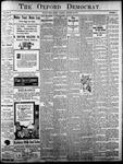 Oxford Democrat: Vol. 84, No. 4 - January 23,1917