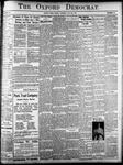 Oxford Democrat: Vol. 84, No. 30 - July 24,1917
