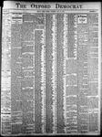 Oxford Democrat: Vol. 84, No. 31 - July 31,1917