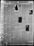 Oxford Democrat: Vol. 84, No. 46 - November 13,1917