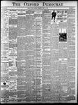 The Oxford Democrat: Vol. 84, No.20 - May 21,1918
