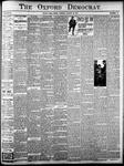 Oxford Democrat: Vol. 84, No.33 - August 20,1918