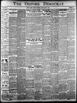 Oxford Democrat: Vol. 84, No.52 - December 31,1918