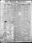 The Oxford Democrat: Vol. 85, No.15 - April 15,1919