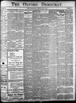 Oxford Democrat: Vol. 85, No.19 - May 13,1919
