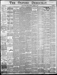 Oxford Democrat: Vol. 85, No.1 - January 06, 1920