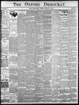 Oxford Democrat: Vol. 85, No.8 - February 24, 1920