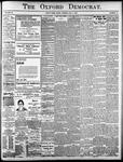 Oxford Democrat: Vol. 85, No.18 - May 04, 1920