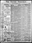 The Oxford Democrat: Vol. 85, No.18 - May 04, 1920