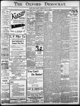 Oxford Democrat: Vol. 85, No.21 - May 25, 1920