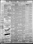 The Oxford Democrat: Vol. 85, No.22 - June 01, 1920