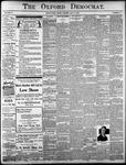 The Oxford Democrat: Vol. 85, No.27 - July 06, 1920