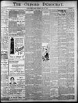 Oxford Democrat: Vol. 85, No.30 - July 27, 1920