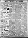 Oxford Democrat: Vol. 85, No.32 - August 10, 1920