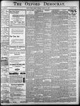 The Oxford Democrat: Vol. 85, No.34 - August 24, 1920