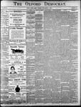 The Oxford Democrat: Vol. 85, No.36 - September 07, 1920