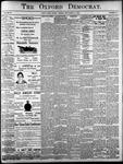 Oxford Democrat: Vol. 85, No.37 - September 14, 1920