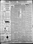 The Oxford Democrat: Vol. 85, No.38 - September 21, 1920