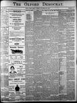 The Oxford Democrat: Vol. 85, No.39 - September 28, 1920