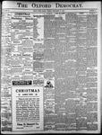The Oxford Democrat: Vol. 85, No.51 - December 21, 1920