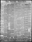 The Oxford Democrat: Vol. 86, No.1 - January 04,1921