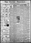 Oxford Democrat: Vol. 86, No.11- - March 15,1921