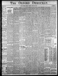 Oxford Democrat: Vol. 86, No.12- - March 22,1921