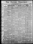 Oxford Democrat: Vol. 86, No.13 - March 29,1921