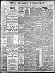Oxford Democrat: Vol. 86, No.19 - May 10,1921