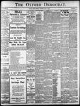The Oxford Democrat: Vol. 86, No.19 - May 10,1921