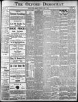 Oxford Democrat: Vol. 86, No.23 - June 07,1921