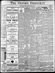 Oxford Democrat: Vol. 86, No.24 - June 14,1921