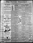 Oxford Democrat: Vol. 86, No.29 - July 19,1921