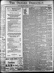 Oxford Democrat: Vol. 86, No.34 - August 23,1921