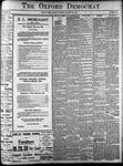Oxford Democrat: Vol. 86, No.35 - August 30,1921
