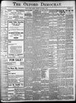 The Oxford Democrat: Vol. 86, No.40 - October 04,1921
