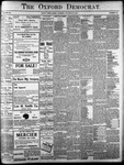 The Oxford Democrat: Vol. 86, No.42 - October 18,1921