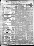 Oxford Democrat: Vol. 86, No.44 - November 01,1921