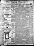 Oxford Democrat: Vol. 86, No.45 - November 08,1921