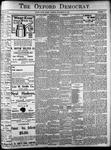 Oxford Democrat: Vol. 86, No.47 - November 22,1921