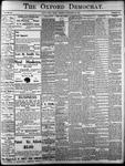 Oxford Democrat: Vol. 86, No.48 - November 29,1921