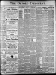 Oxford Democrat: Vol. 86, No.51 - December 20,1921