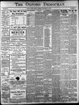 Oxford Democrat: Vol. 86, No.52 - December 27,1921