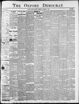 Oxford Democrat - Vol. 80, No.1 - January 07,1913