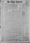 The Oxford Democrat: Vol. 53, No. 1 - January 05,1886